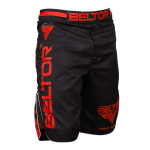 BELTOR  fight shorts red punch
