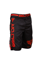 Шорты,BELTOR  fight shorts red punch