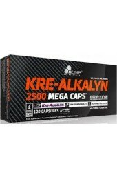 Olimp,Kre-Alkalyn 2500 Mega Caps (120 caps)