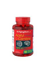 Piping Rock,Acetyl L-Carnitine 1000 mg (100 caps)