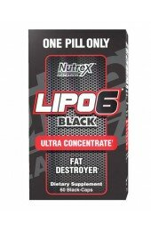 Nutrex,Lipo-6 Black Ultra Concentrate (60 caps)