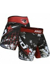 Шорты, RDX,MMA SHORT R6 MULTI GRAY