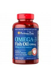 Puritan's Pride,Omega-3 Fish Oil 1000 mg (100 caps)